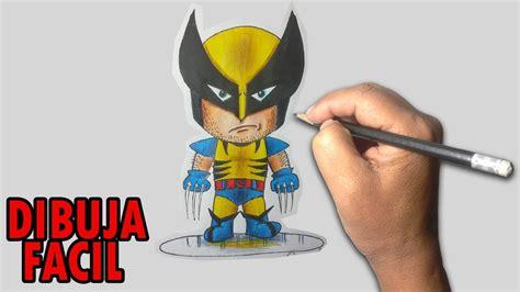 wolverine imagenes para dibujar como dibujar facil wolverine chibi paso a paso youtube