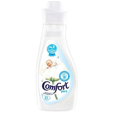 comfort fabric softener uk comfort pure fabric conditioner 21 wash 750ml fabric