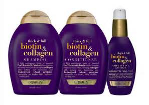 hair thickening products for curly hair organix thick full biotin collagen the glossariethe
