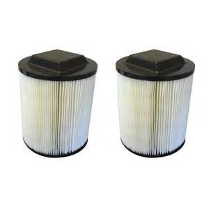 Ridgid 2 ridgid filters fit wet amp dry vac 5 gal part 72947