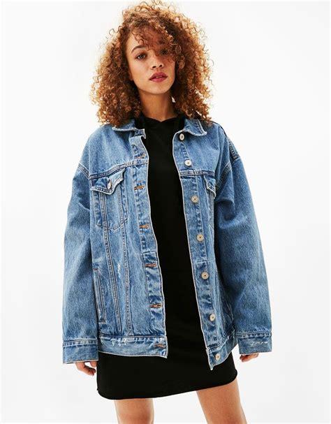 25 best ideas about oversized denim jacket on