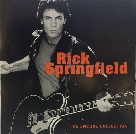 rick springfield the encore collection cd at discogs