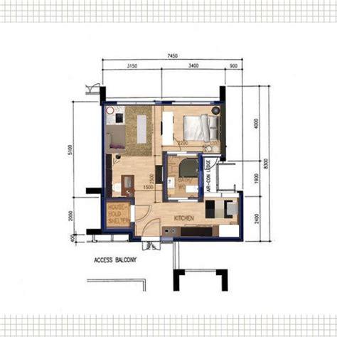 2 room flat singapore housing 2 room apartment in singapore 47sqm interior space ssphere