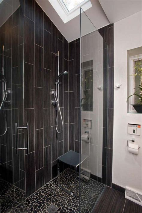 black tile bathroom ideas 20 modern bathrooms with black shower tile