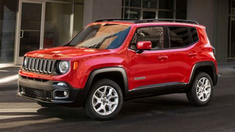 types of jeeps 2016 2016 jeep renegade review configurations release date