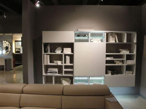 libreria soggiorno moderno soggiorno colombini infinity laminato materico librerie