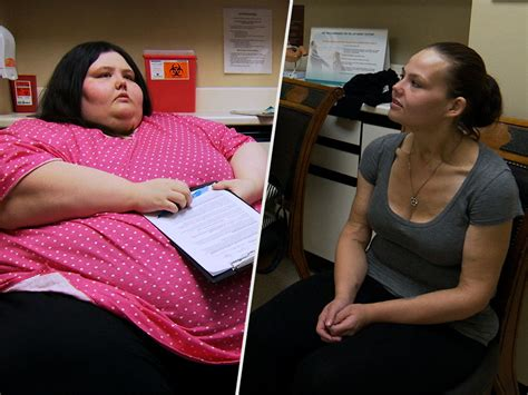 woman who lost over 500 lbs stops eating for days if she