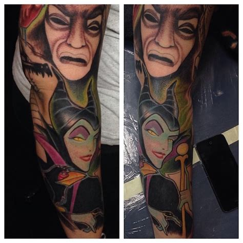 disney villain tattoo 138 amazing disney tattoos photos