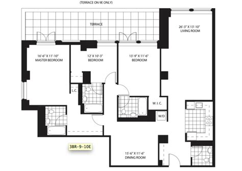 lenox terrace floor plans lenox terrace floor plans 28 images the lenox 380