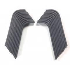 coupe bordure batterie 2055 r0000148 kit couteaux 10 droits 10 gauches pour