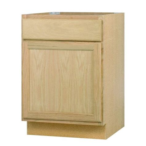 unfinished oak kitchen cabinets home depot null 24x34 5x24 in base cabinet in unfinished oak base