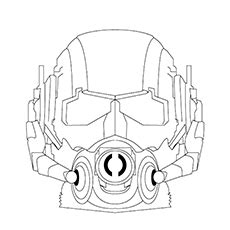 printable ant mask template ant man mask coloring page coloring pages