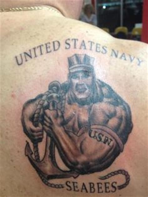 seabee tattoo designs seabee nmcb construction battalion quot we build we fight