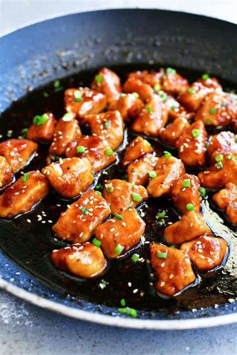 honey garlic chicken recipe the gunny sack