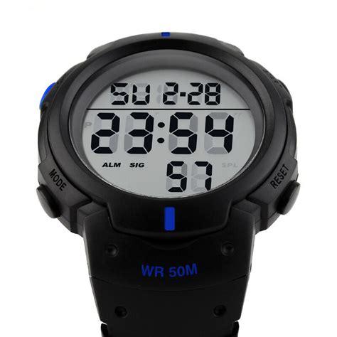 Sporty Rubber Blue mortima jam tangan sporty pria rubber model 18