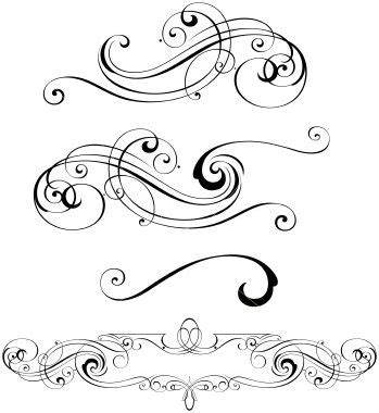 Clipart Wedding Embellishments by Word Clip Wedding Embellishments Scroll Designs