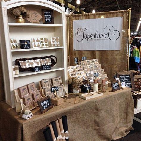 vendor display racks consistency in branding and materials craft show display ideas pinterest display