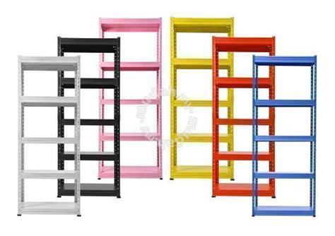 Rak Besi boltless diy rak besi 6 x 1 x 3 x 5 levels professional business equipment for sale in