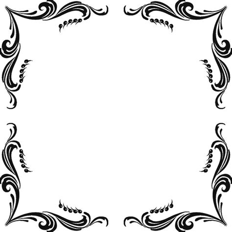 pattern border black and white border designs black and white hd clipart best