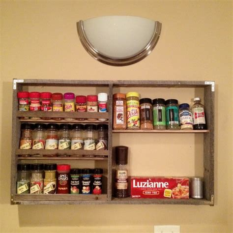 Wood Pallet Spice Rack by Pallet Spice Rack Ideas Pallet Wood Projects