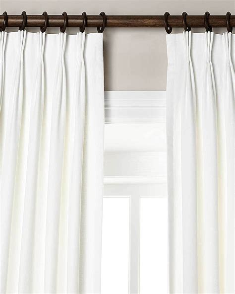 Pinch Pleated Curtains White Pinch Pleated Drapes Images