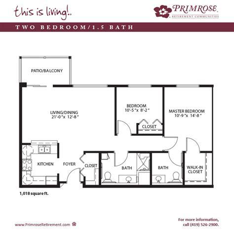 ohio floor plans apartment sizes and floor plans for mansfield oh primrose
