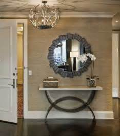 foyer design ideas photos how to decorate a console table top seeing the forest through the trees