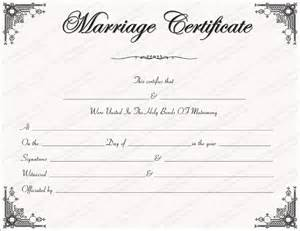 Marriage Certificate Templates Free Intimacy Marriage Certificate Template Get Certificate