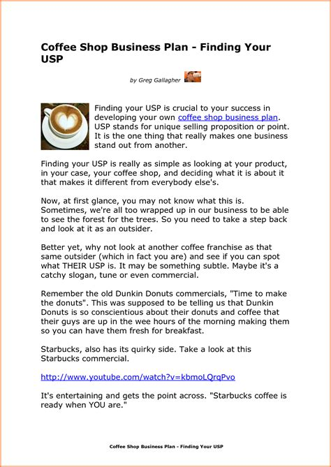layout proposal business 8 coffee shop business proposal project proposal