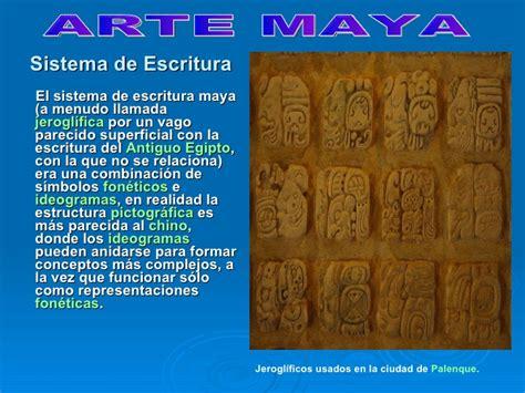 como era el arte de los mayas el arte