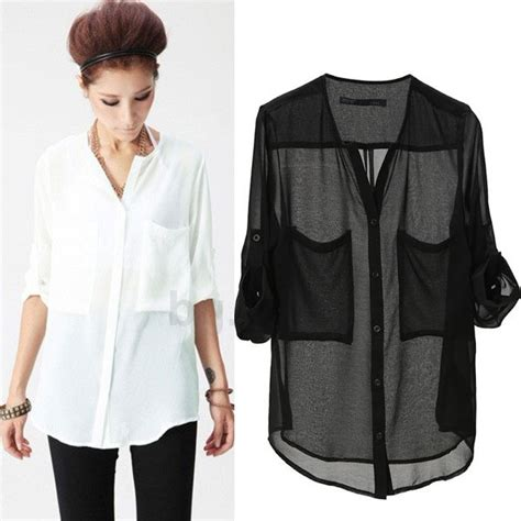 Blouse Putih Import Bahan Katun Linen Model Tangan Payung tips padu padan kemeja sifon mode fashion carapedia