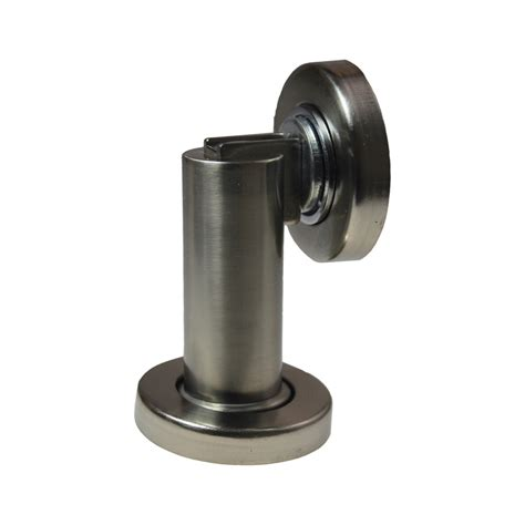 Glass Door Stopper Adoored Cylinder Magnetic Door Stop Bunnings Warehouse