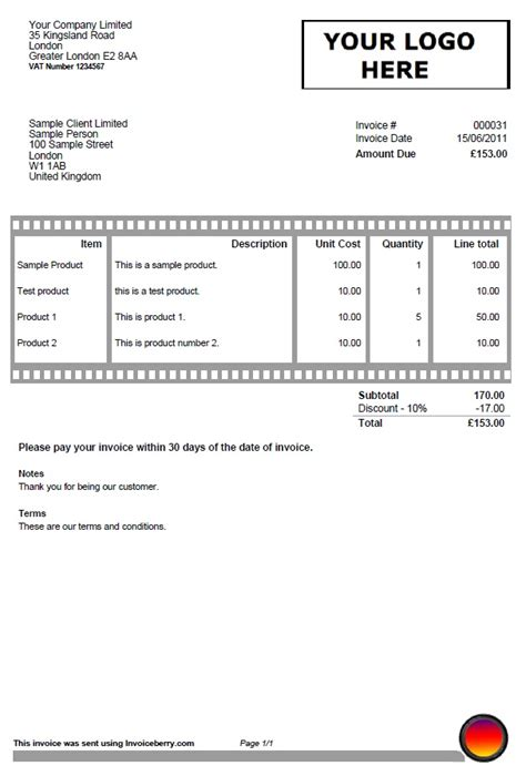 free templates for invoices and quotes creative invoice template photography film