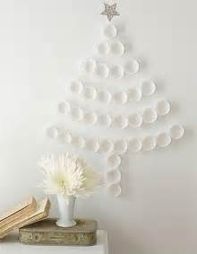 Christmas trees adding fun wall decorations to green holiday decor