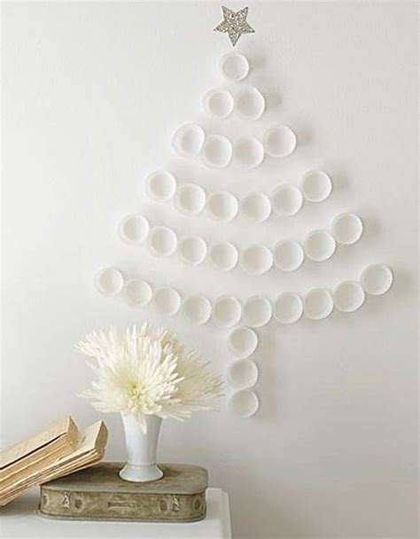 40 diy alternative christmas trees adding fun wall