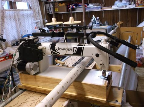 Hinterberg Machine Quilting Frame by Hinterberg Voyager 17 Quilting Machine And Stretch Frame