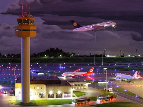 Germany Miniature Wunderland miniatur wunderland airport terminal must