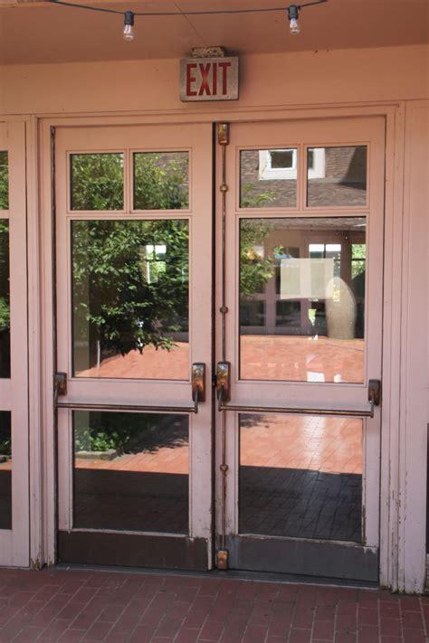 Egress Doors by I Dig Hardware 187 Courtyard Egress