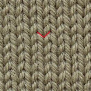 knit vs purl what is the difference between the knit stitch and the