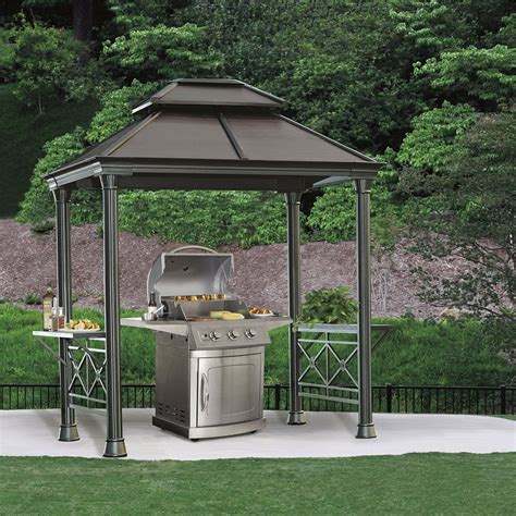 bbq gazebo aluminium gazebo from costco intended as a cover for