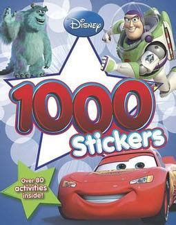 disney pixar cars sticker activity book with 200 stickers set by anon sticker books at the works world of wonders disney 1000 stickers activity books 3 titles