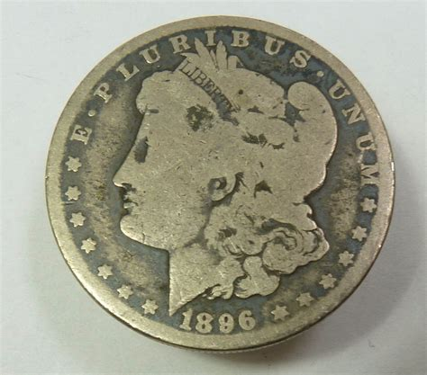 1 Dollar Silver Coin 1896 1896 o silver dollar 1 us coin item 9116 for sale