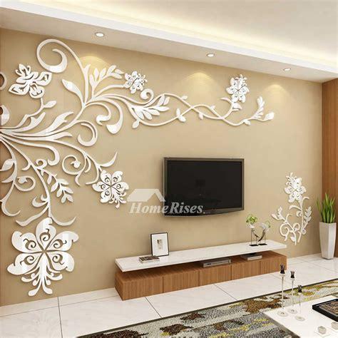 home decor wall murals beautiful wall mural stickers 3d acrylic home decor living