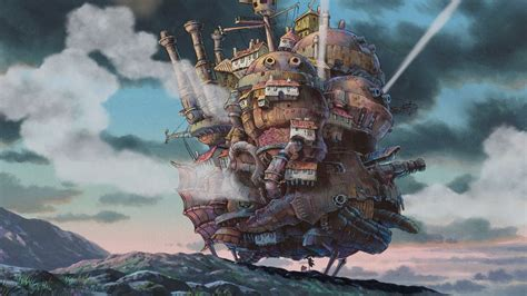 howls moving castle howl studio studio ghibli howl s moving castle anime wallpapers hd
