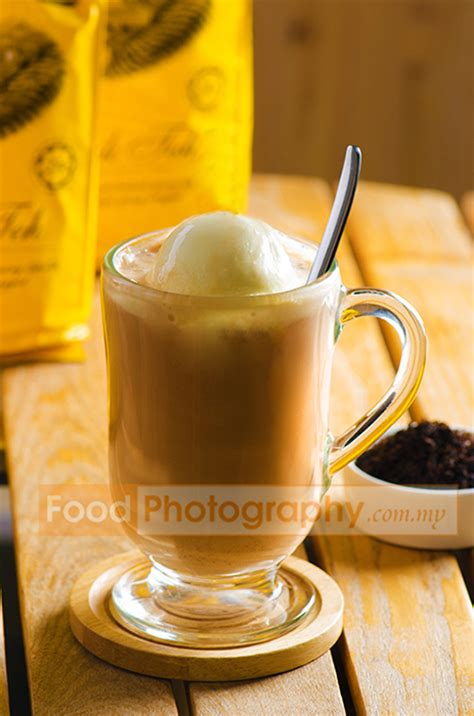 Teh Cameron Valley teh tarik float malaysia food photography and