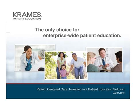 Mba Manager Patient Care by Patient Centered Care Investing In A Patient Education
