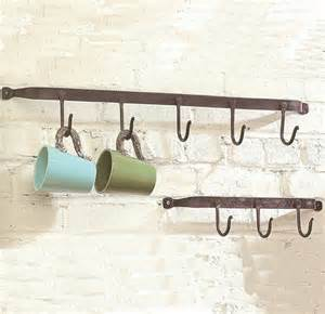 iron hook wall rack eclectic wall hooks atlanta by