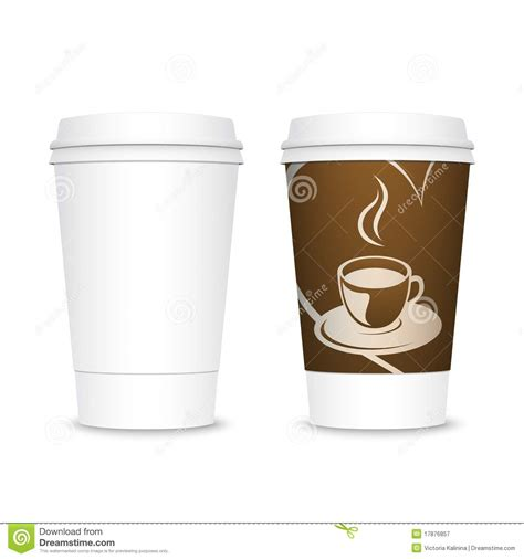 Plastik Cup Take Away plastic takeaway coffee cups stock vector illustration 17876857