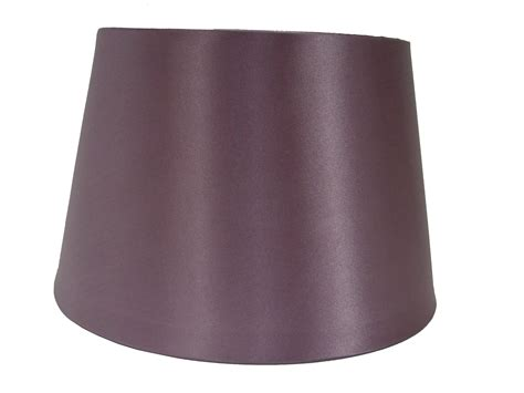 14 quot satin drum ceiling table l shade lshade plum