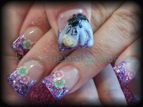 super cute brown bear pattern fake nails japanese pure 35 best images about eeyore nails on pinterest nail art